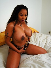 Hot black babe tricked into getting dicked