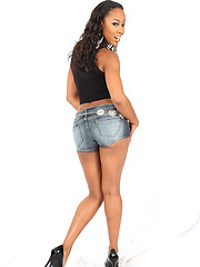 Misty Stone is a classy babe who likes to do something hot