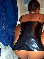 Sexy black chicka amateur pics