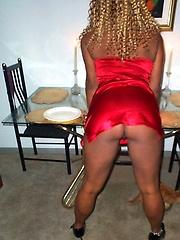 Ebony chick amateur photos
