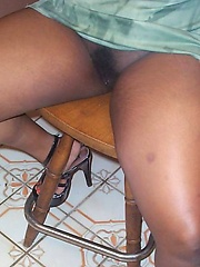 Black amateur girl Sparkel