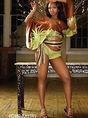 Amazing black model from Ludacris music videos