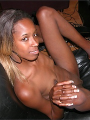 Amateur Black Girl Spreads Her Ebony Pusssy And Asshole