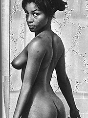 Black babes from the sixties showing their boobs