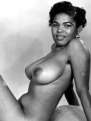 Vintage black babes from all over the world nude