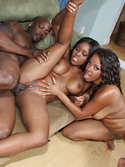 Stacet and Candice gets there tight pussy fucked!
