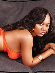 Rap video clips star Esther Baxter