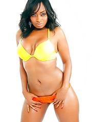 Fauziah shows her perfect black body