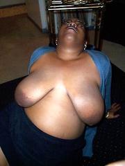 Big black woman Sandy S