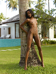 Valerie knows how to stretch her sexy legs and she wants you to join her.