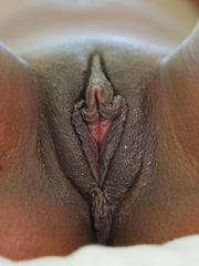 Hot black girl in tub of milk