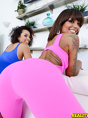 Watch roundandbrown scene onesie threesome featuring ava sanchez browse free pics of ava sanchez from the onesie threesome porn video now