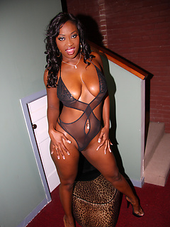 black model Aryana Starr