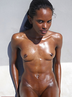 black model Valerie Mauritian